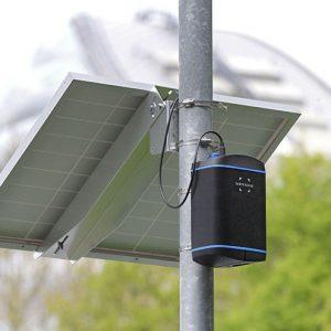 Earth Sense Zephyr with solar power